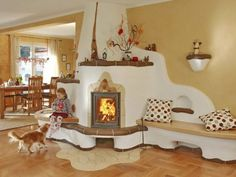 Clay stoves, ideal for a warm & personalised interior design/ Sobele din lut sau sobele cu personalitate