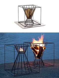 Boo Fire Basket by Martin Kallin   moddea