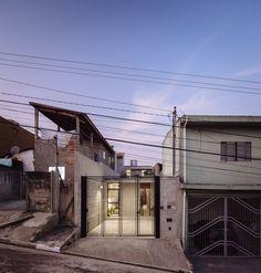 Narrow São Paulo house rebuilt for an elderly resident by Terra e Tuma