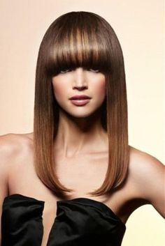 Все о выпрямлении волос.   Прически на каждый день
