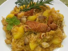 Mleté mäso s kyslou kapustou a zemiaky (fotorecept) - Recept