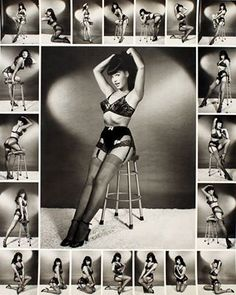 A blast of Bettie! photographed by Bunny Yeager. Great Pinup Pose inspiration!