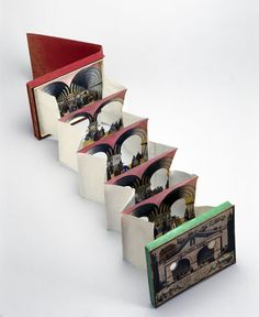 Tunnel Books - The Movable Book - LibGuides at New England College Concertina Book, Accordion Book, Pop Up, Victorian Toys, Paper Art, Paper Crafts, Museum Of Childhood, Toy Theatre, Paper Engineering
