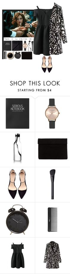 """""""Stressed Out"""" by aguniaaa ❤ liked on Polyvore featuring Hello Darling, Une, Topshop, Olivia Burton, Zara, NARS Cosmetics and Sephora Collection"""