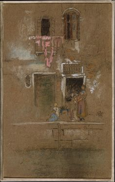 Note in Pink and Brown Artist: James McNeill Whistler (American, Lowell, Massachusetts London) Date: ca. 1880 Medium: Charcoal and pastel on dark brown wove paper James Abbott Mcneill Whistler, Art Society, Toned Paper, Pastel Drawing, Art For Art Sake, American Artists, Art Google, Illustrations, Art History