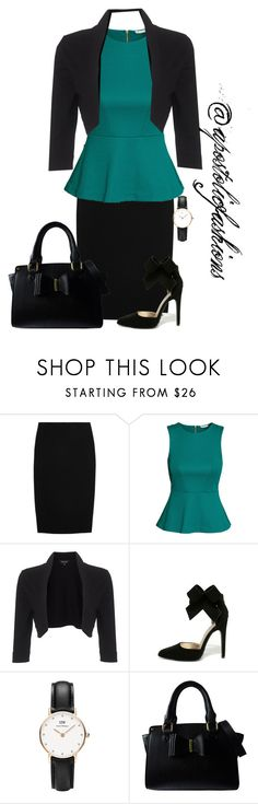 """""""Apostolic Fashions #1693"""" by apostolicfashions ❤ liked on Polyvore featuring Alexander McQueen, H&M, Phase Eight, Qupid, Daniel Wellington and Lipsy"""