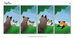 StupidFox - 41 by SilentReaper on @DeviantArt