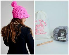 DIY Kit - Polo Crochet Hat - Merino No. 5