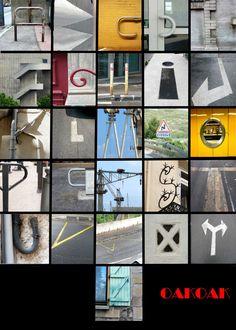 Leuke opdracht: stuur de kinderen met een camera/smartphone de school, de stad, een museum in om hun eigen alfabet te fotograferen.