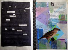 Day 26: Blackout Poem and Collage. I tried Blackout poems before, and finally succeeded! Yay! For #30DOC @createstuff