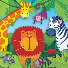 Need ideas for your child's Jungle or Madagascar 3 movie themed party? On this page you will find ideas for the party room and table decorations,...