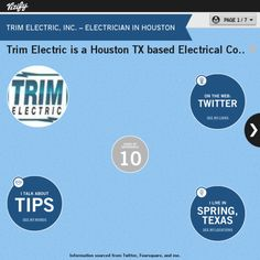 Graphical Bio Trim Electric Inc Electrician In Houston Www Trimelectric
