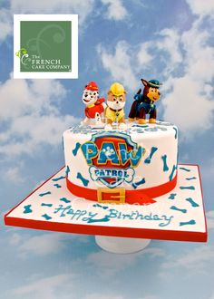 Childrens Birthdays Cake Paw - Gateau D'anniversaire Pour Enfants - Garçon Paw - Verjaardagstaart Best Cake Ever, Cakes For Boys, Birthday Cake, Desserts, Birthdays, Children, Birthday Cakes, Deserts, Dessert