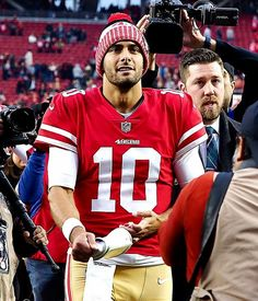 8992513f8 Is Jimmy Garoppolo s 2017 performance sustainable  Sam Monson of PFF chimes  in 49ers Quarterback