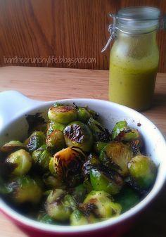 Roasted Brussel Sprouts with Meyer Lemon Viniagrette