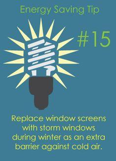 Energy Saving Tip # 15 | Rempfer Construction, Inc.