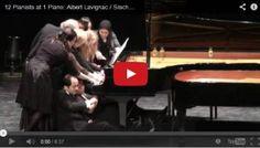 Douze pianistes pour un piano