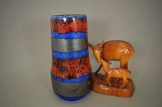 Vintage Vase / Scheurich / Modell 529 18 / Metallic | West Germany | WGP | 60er von ShabbRockRepublic auf Etsy