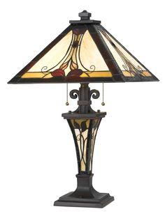 """Tiffany 25"""" Table Lamp"""