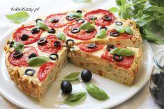 Tort warzywny z serem