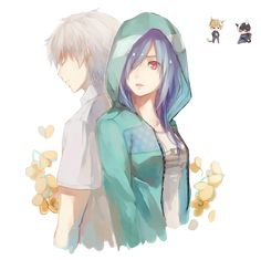tokyo_ghoul_kaneki_and_touka_render_by_kukinima-d8qappt.png (1024×1022)