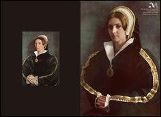 The six wives of King Henry VIII back to life : Catherine Howard. Photography: Milena Murawska, model: Milena Murawska