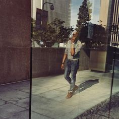 """So let me restart""     Gingham Shirt - @Jcrew Canvas Belt - @Jcrew 511 Skinny Jeans - @Levis Leather Desert Boots - @ClarksShoes Time Piece - @Timex Skull Bracelets - @OurSaints  *photo credit - @ashleyxlauren_"