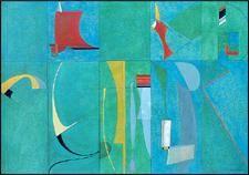 Oeuvre de Gaston Bertrand 1919 projet pour panneau decoratifpor l ¨IRpa