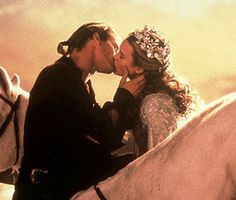 Passionate, longing, never want to let you go, can't live without you, steaming hot, melt your innards, and explode your heart kind of MOVIE KISSES:       THE PRINCESS BRIDE