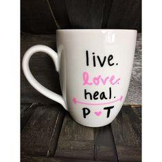 Physical Therapist Coffee Mug  Easter  by BeinPrettyAintPretty