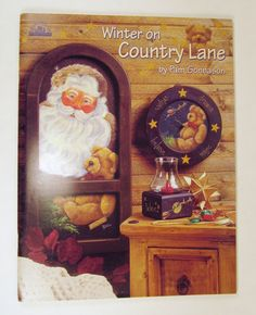 Winter on Country Lane by Pam Gonnason Tole Painting Book by PhotographyByRoger on Etsy