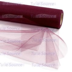 Wine (Burgundy) Tulle Fabric – Tulle Source