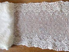3m - Ivory Stretch knit style lace