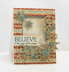 Peets Scrapalbum: Magic of the Season