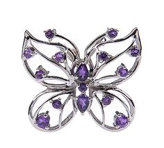 butterfly amethyst pendant from semiprecious.com