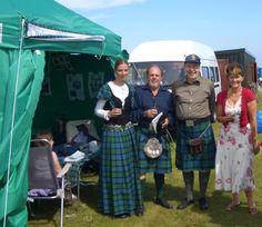 Clan Name Scottish Highlands MacKay   Highland Gathering 2008 der Clan MacKay Society Scotland in Durness