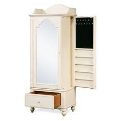 Paula Dean Gals Dressing Mirror Armoire - Kids Furniture at Hayneedle