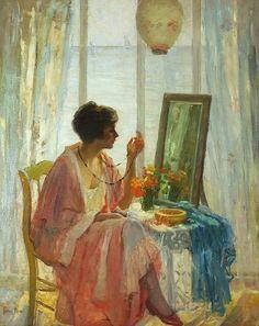 Hilda Belcher (American 1881-1963), The Morning Sun