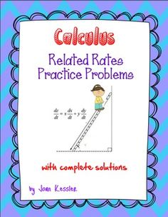 Calculus: Related Rates Practice Problems