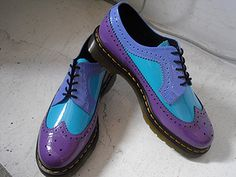 Genna's Fashion Closet Pick: Technicolor Dr. Martens