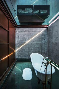 """Vertical Glass House"" | Architects: Atelier FCJZ |  Location: Longteng Avenue, Xuhui District ( 徐汇区 ), Shanghai ( 上海 ), China ( 中国 ) | Principal Architect: Yung Ho Chang | Project Architect: Lu Bai | Photographs: Courtesy of Atelier FCJZ"