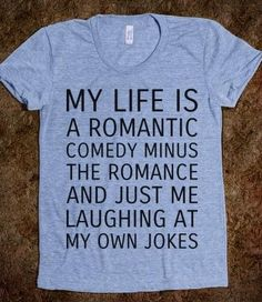I so totally need this shirt haha I'm such a loner:(