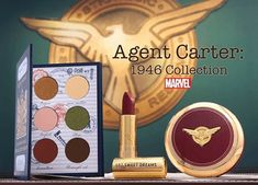 Besame X Agent Carter 1940s Makeup, Vintage Makeup, Vintage Beauty, Naked Palette, Eye Palette, Mascara Tutorial, Twin Birthday, 13th Birthday, Black Widow Natasha
