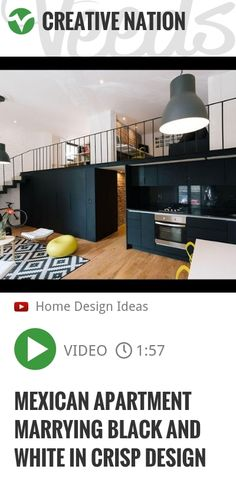Living in a Mexican apartment can be particulary chic, especially when the interior design proves space to be like a blank page. The Cordoba Flat by Cadaval & Sola - Morales is a fun example of how .. | http://veeds.com/i/vUx1zE7O_W-H3xtm/creativenation/