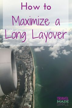 Sometimes a long layover is long enough to leave the airport and get a glimpse of the city. Here's how to maximize a long layover and what to consider. Air Travel Tips, Travel Advice, Travel Hacks, Budget Travel, Travel Guide, European City Breaks, Packing For A Cruise, International Travel Tips, Airline Travel