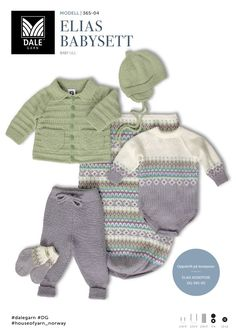 Dale gull & fin retro til baby & kids Knit Baby Dress, Baby Cardigan, Baby Knitting Patterns, Free Knitting, Baby Barn, Other Outfits, Designer Baby, Kids Wear, Kids And Parenting