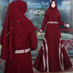 Balqis by Humaira Hijab Dress, Women's Fashion Dresses, Embroidery Designs, Scarves, Stylish, Womens Fashion, Fashion Design, Clothes, Ladies Fashion Dresses