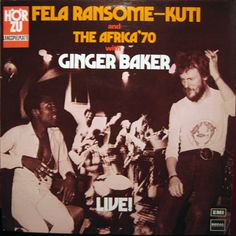 is an album recorded in 1971 by Fela Kuti and his band Africa Former Cream drummer Ginger Baker is featured on two songs. Ginger Baker, Fela Kuti, Crying Man, Progressive Rock, Him Band, Black Men, Musicals, Comedy, Hip Hop