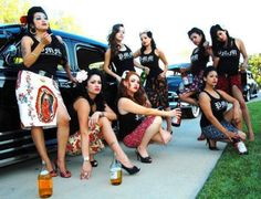 Chola Pin-Up. Time for old friends. (=  with Love to my Phoenix girls ♥