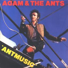 Adam & The Ants Antmusic UK Vinyl single record in picture sleeve 1980 gift for music fan eig Adam Ant, Ant Music, Music Music, Vinyl Sleeves, Little Bit, Fade Out, Lp Cover, Rockn Roll, Drummers